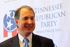 Chris Devaney, Chairman of the Tennessee State Republican Party.  Photo courtesy of the Associated Press/Times Free Press.